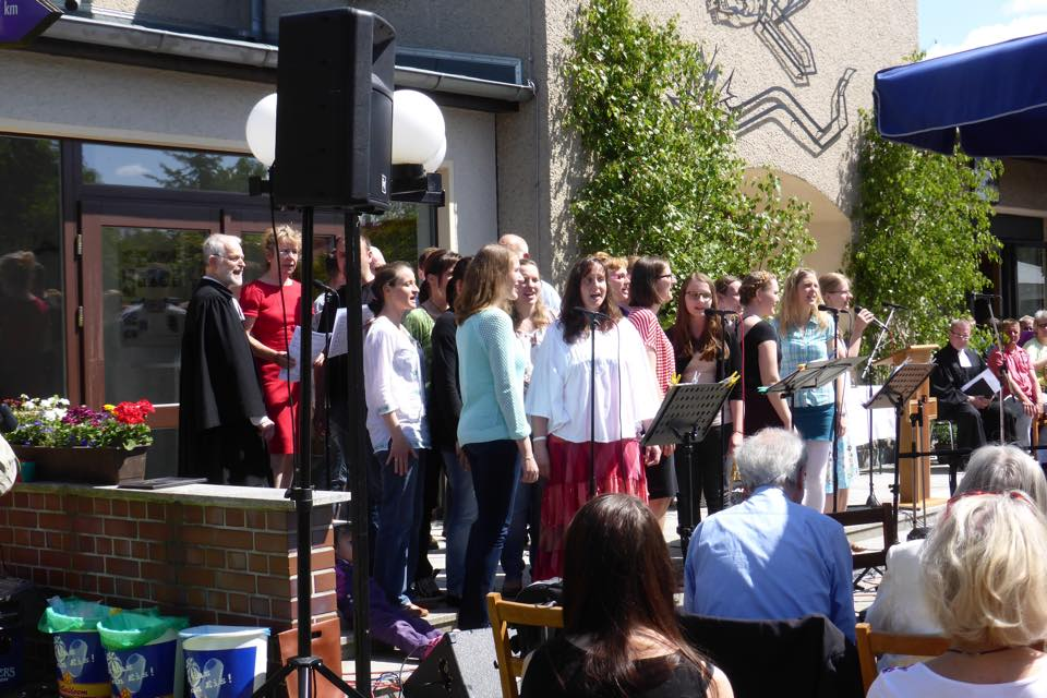 Gospel Choir singing