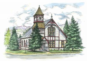 UCC - Crested Butte - Church - Logo