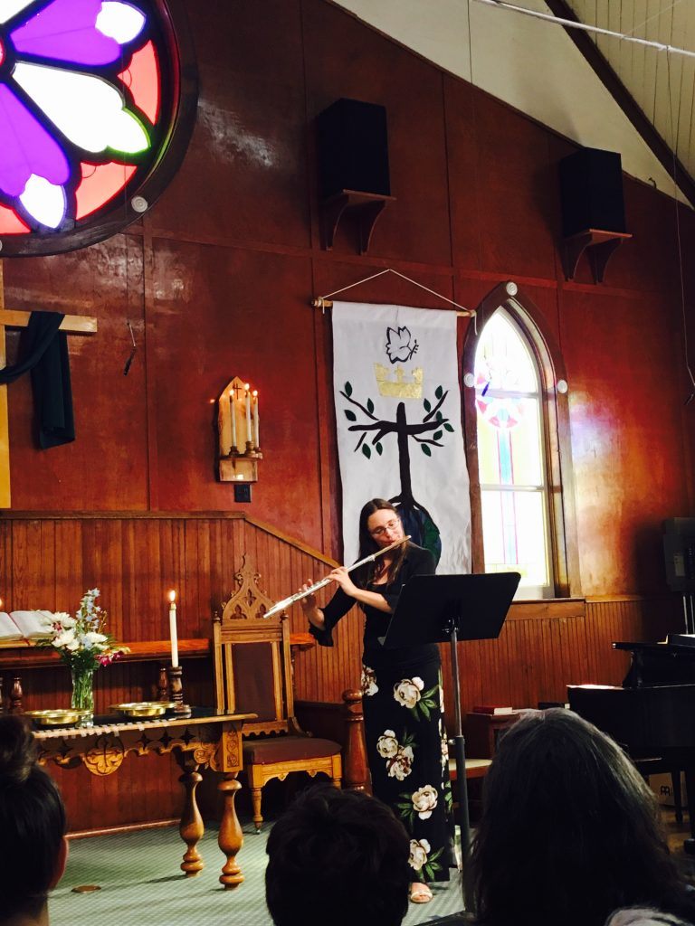 Flautist - UCC Church - Crested Butte, CO
